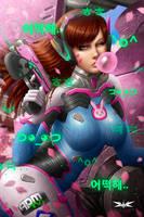 D.VA - Fan art by Kircell-Art
