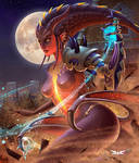 Symmetra Dragon - Overwatch Fan Art