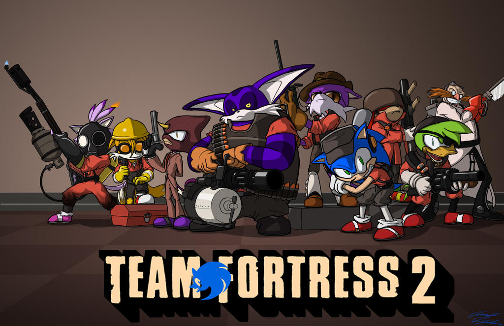 Sonic Team Fortress 2 By Toughset On Deviantart