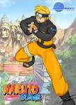 Hadoken as Naruto