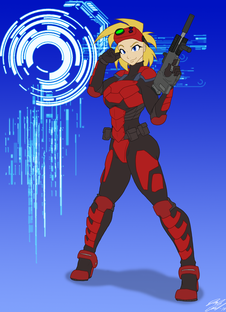 LS-CM, Spec-ops chick by Toughset
