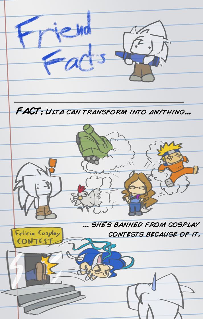 Friend Facts, Ulta by Toughset