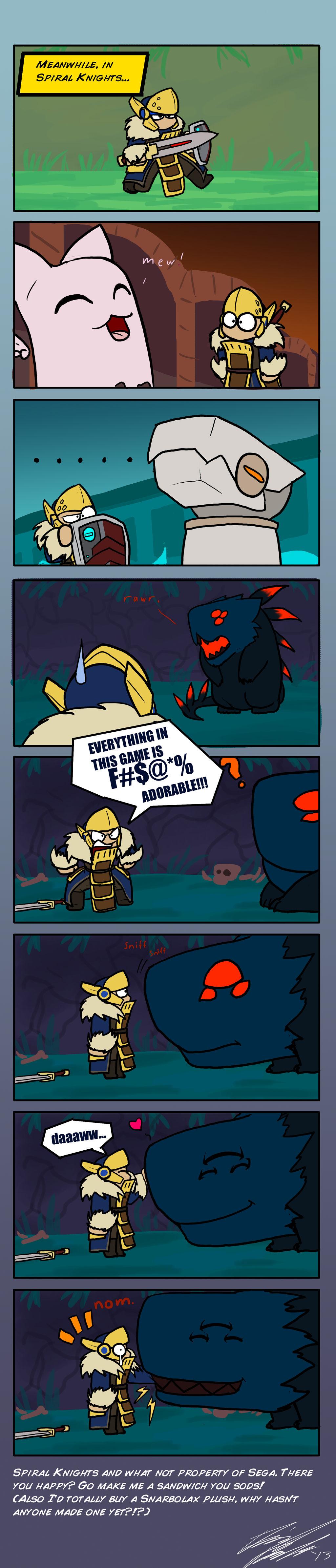 Adventures in Spiral Knights!