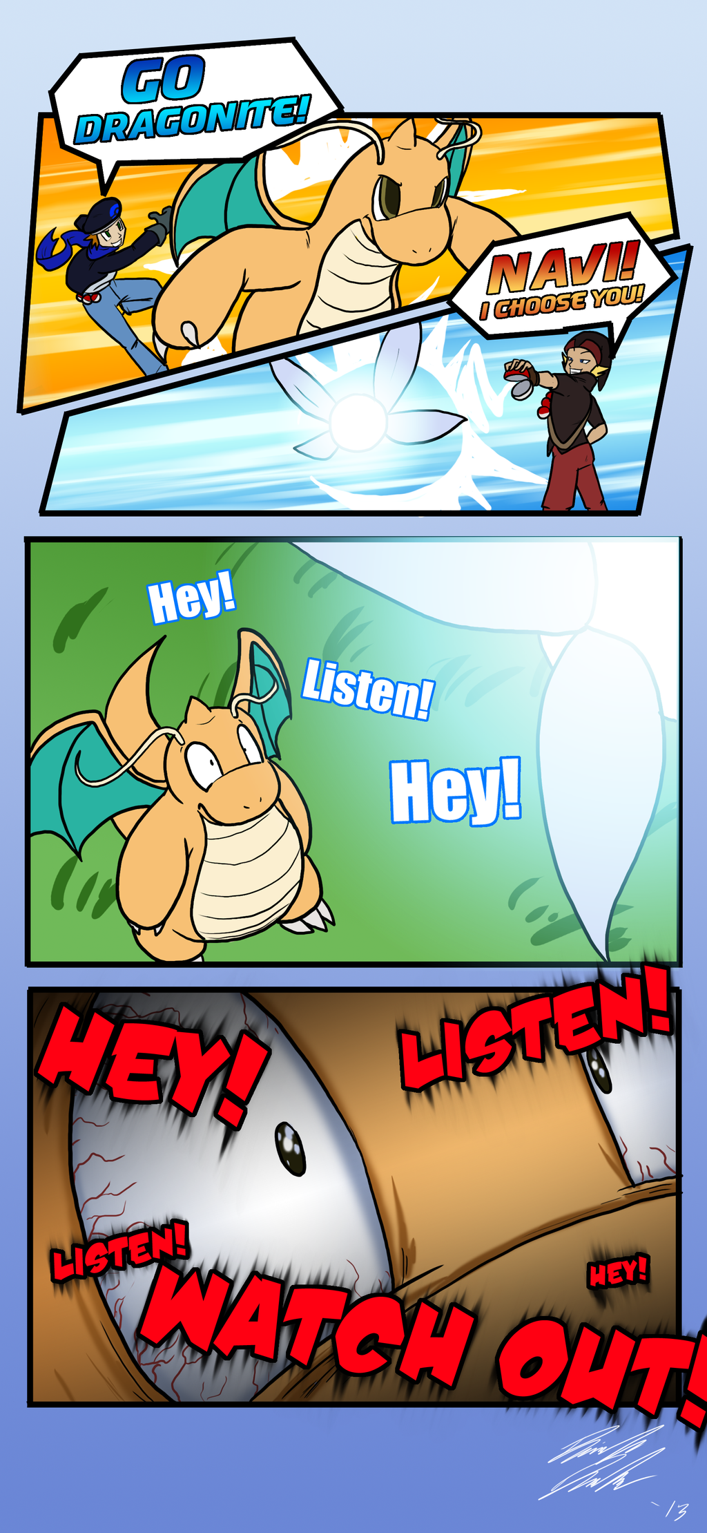 why dragons are weak against fairy types by toughset on deviantart
