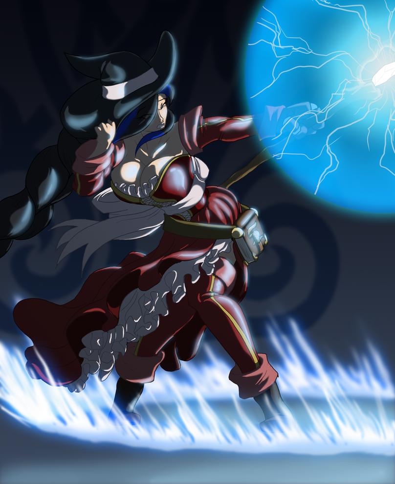 LS-CM, Gran Sorceress Urthy by Toughset