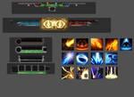 UI Elements Pile