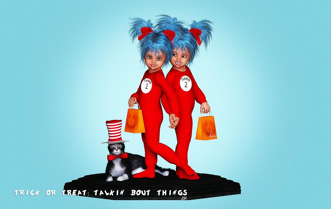 Trick or Treat:  Talkin' Bout Things by Dani3D
