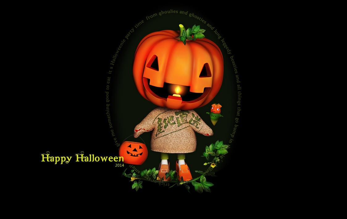 Happy Halloween 2014 by Dani3D