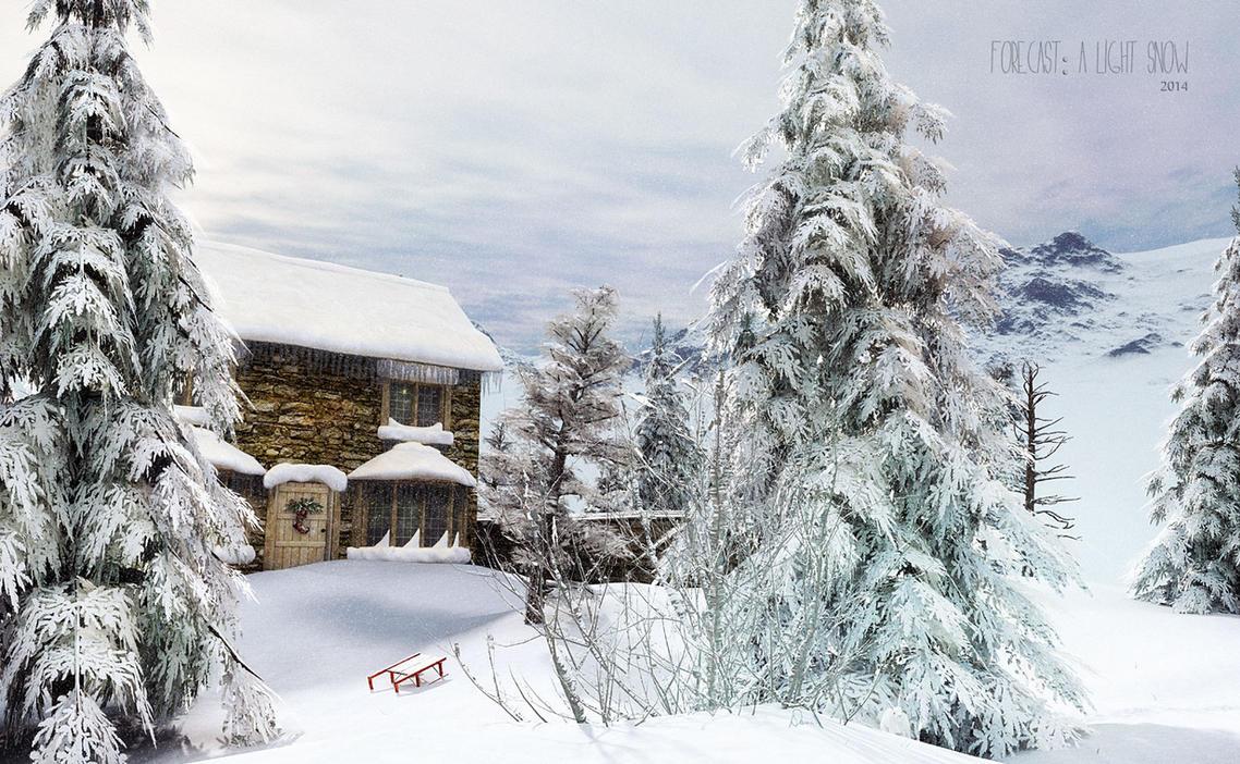 Forecast:  A Light Snow by Dani3D