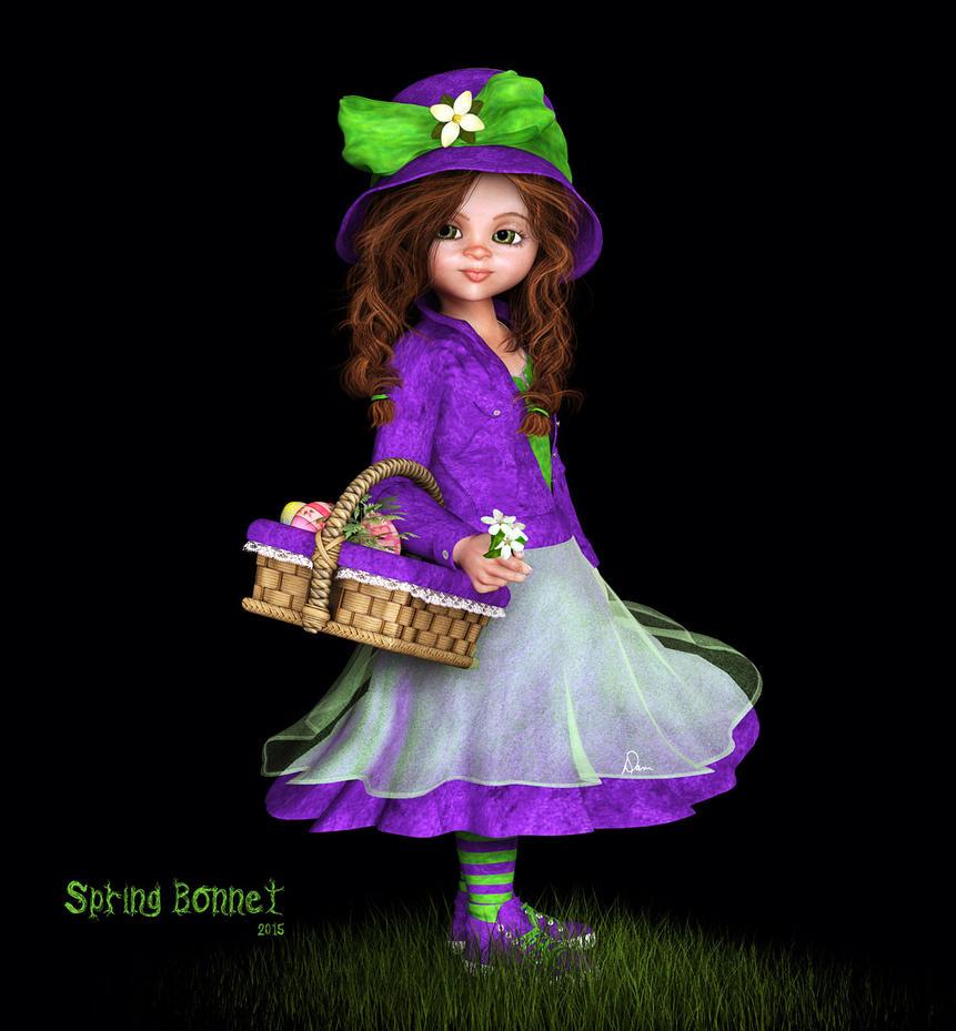 Spring Bonnet by Dani3D