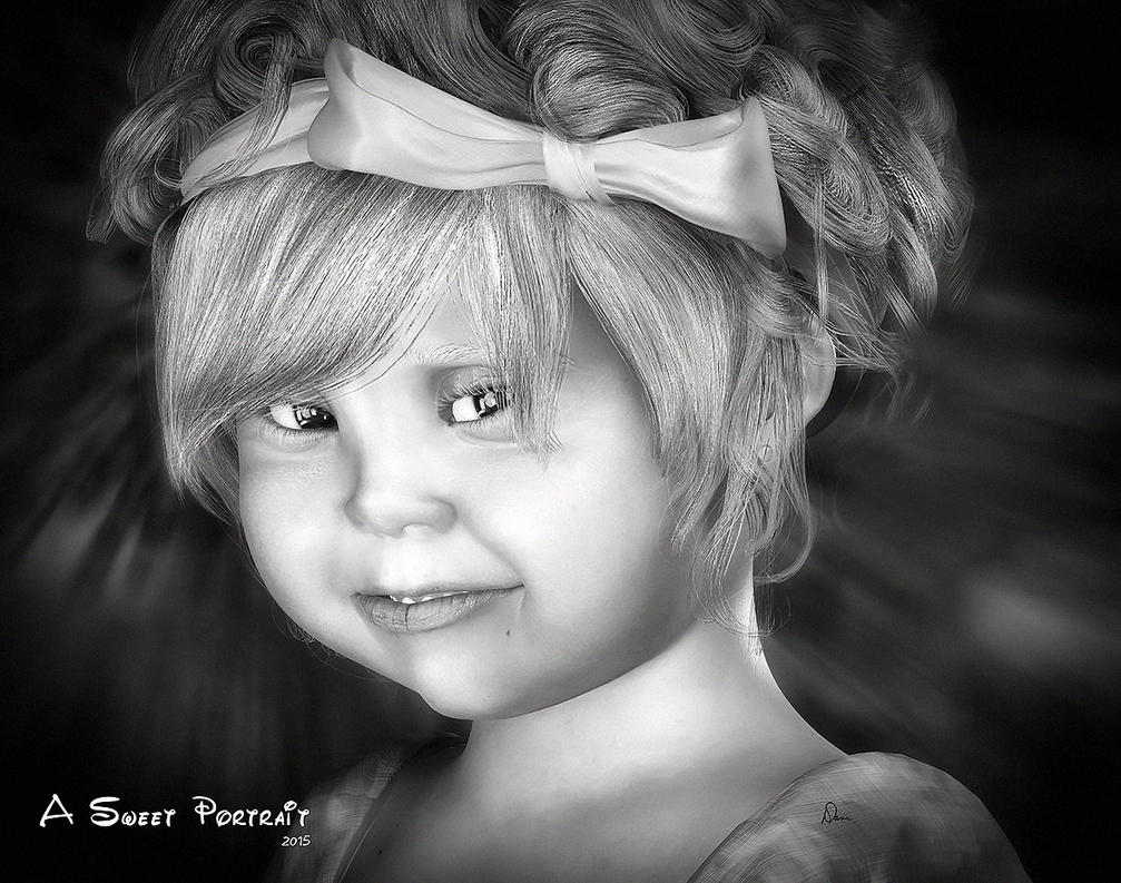 A Sweet Portrait by Dani3D