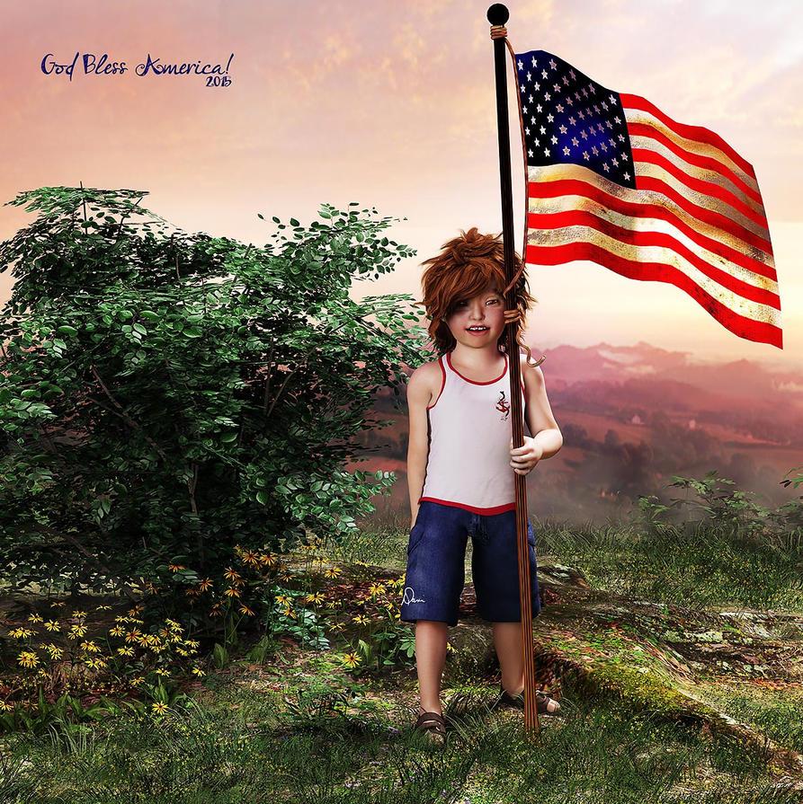 God Bless America by Dani3D