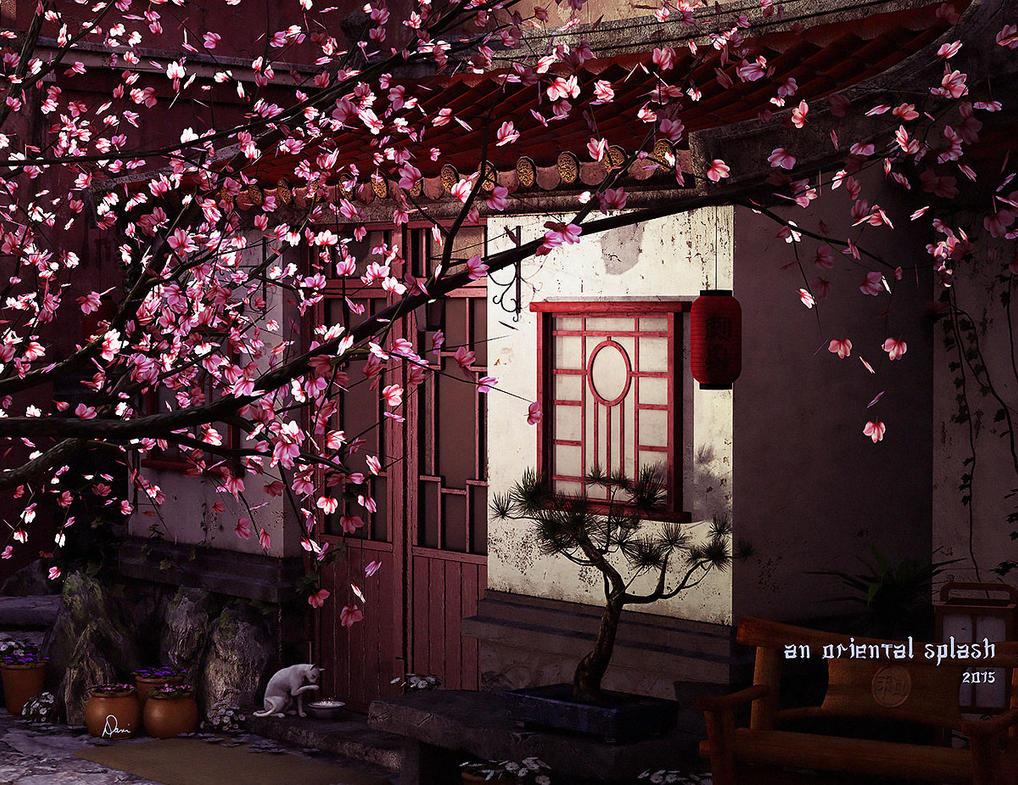 An Oriental Splash by Dani3D