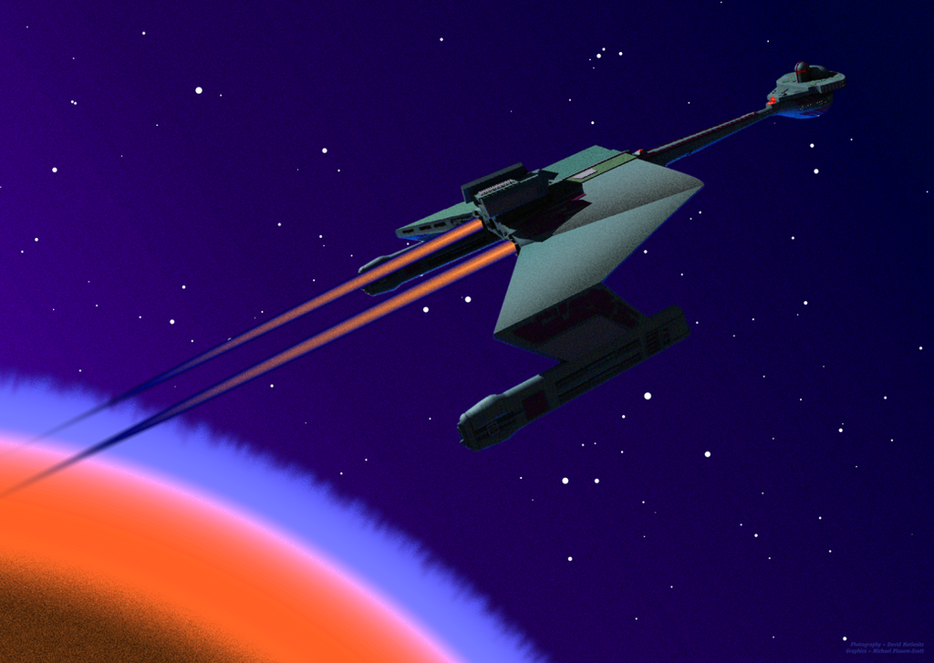 Klingon Battlecruiser by SoludSnak