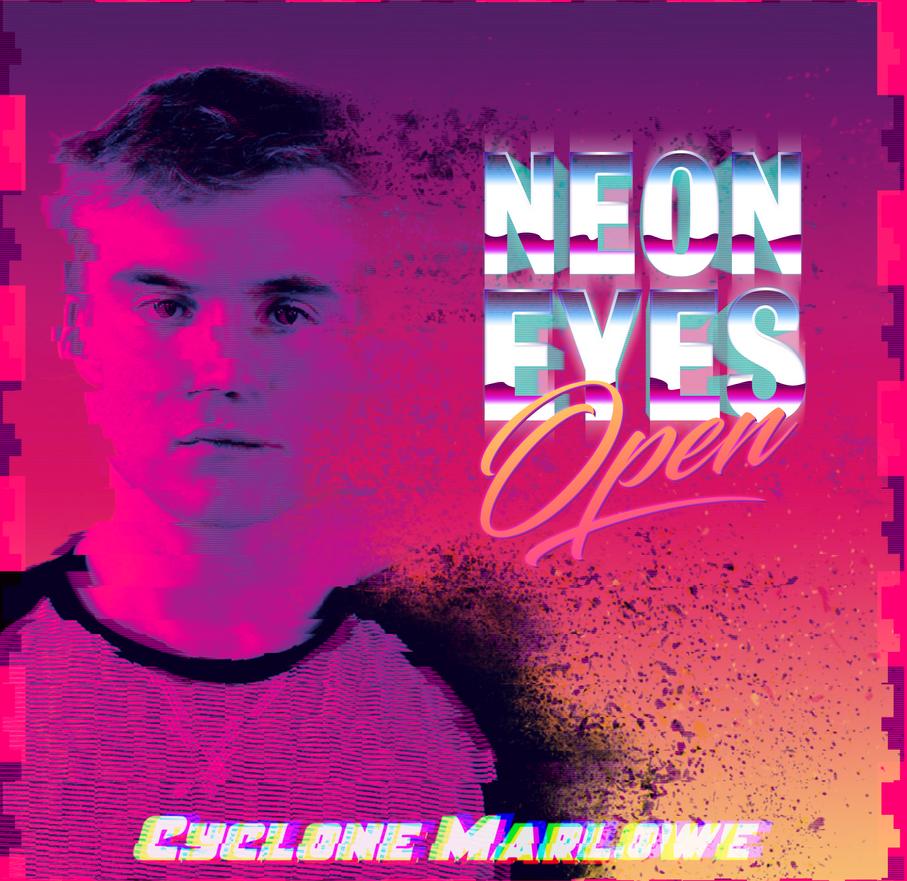 Neon Eyes Open by SoludSnak
