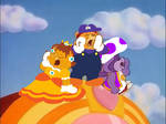 SMB Care Bears Calling for Cheer Bear