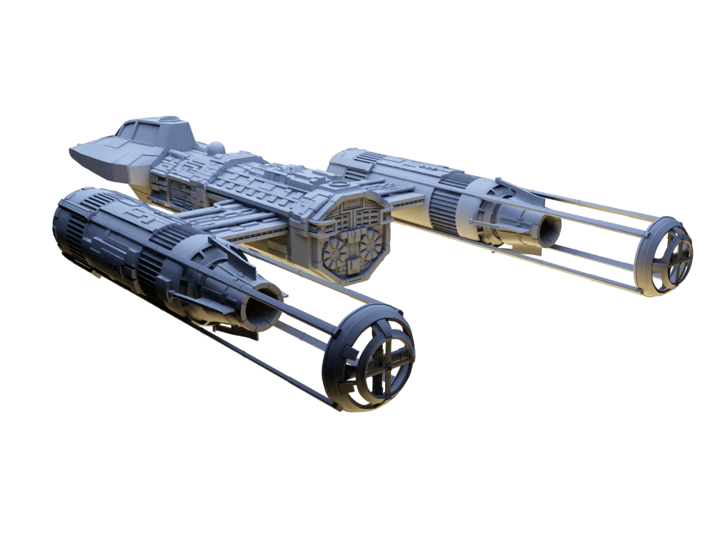 Y Wing Png Y-Wing WIP back by Lex...