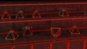 Holocrons at Sith temple.