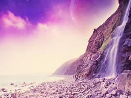 Behind the Falls by Hennah83