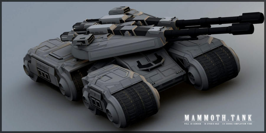 Mammoth Tank I by ChaosHour