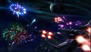 X-Wing Endor Celebration