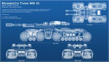 Mammoth Tank III by ChaosHour