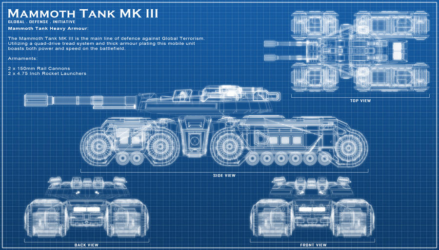 Mammoth Tank III By ChaosHour On DeviantArt
