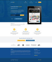 MeteorApp - Free PSD Template by F-l-a-g
