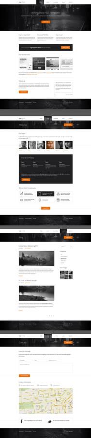 Nina - Free HTML template