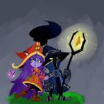 Veigar and Lulu by Ikinari