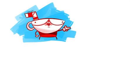 Fan Art Cup Head by JaroX767