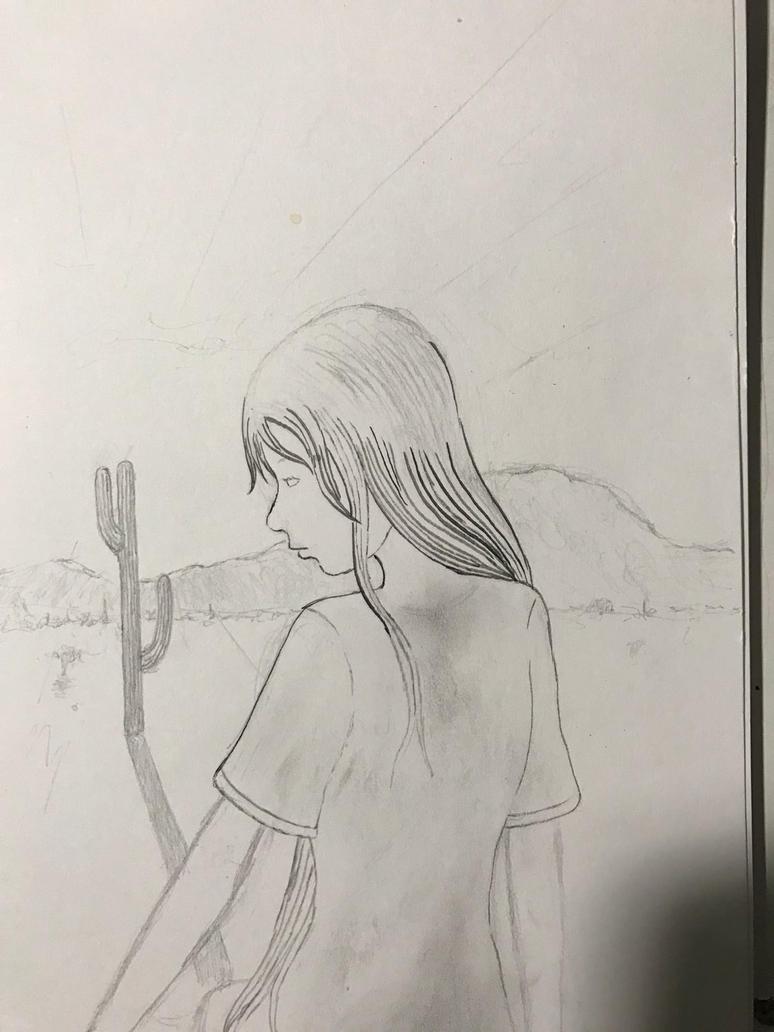 Wip) sketch g tohono by VictorKGarcia