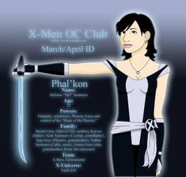 Phal'kon - X-Men OC ID by AnkaaSummers