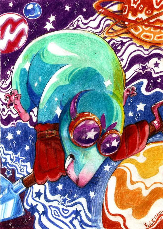 The Cosmic Mole by Kkulkutauti