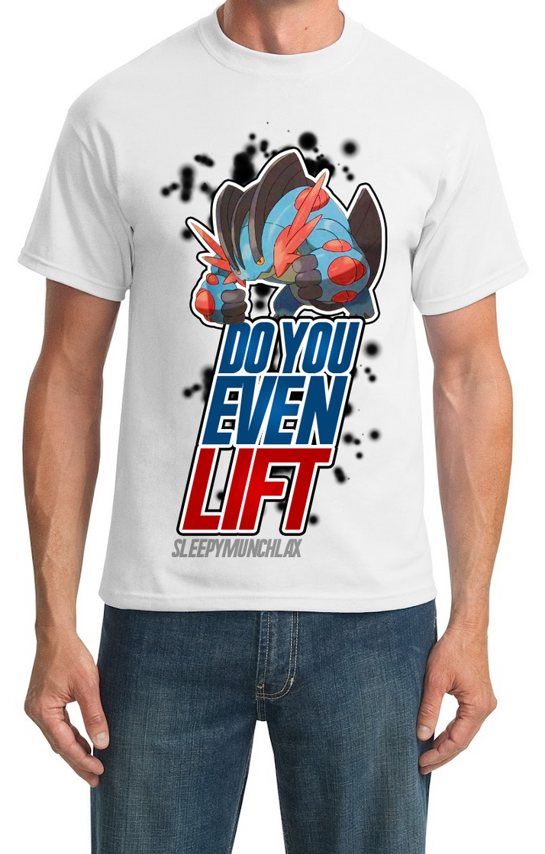 Mega Swampert T-Shirt Design Pokemon OR/AS by SleepyMunchlax