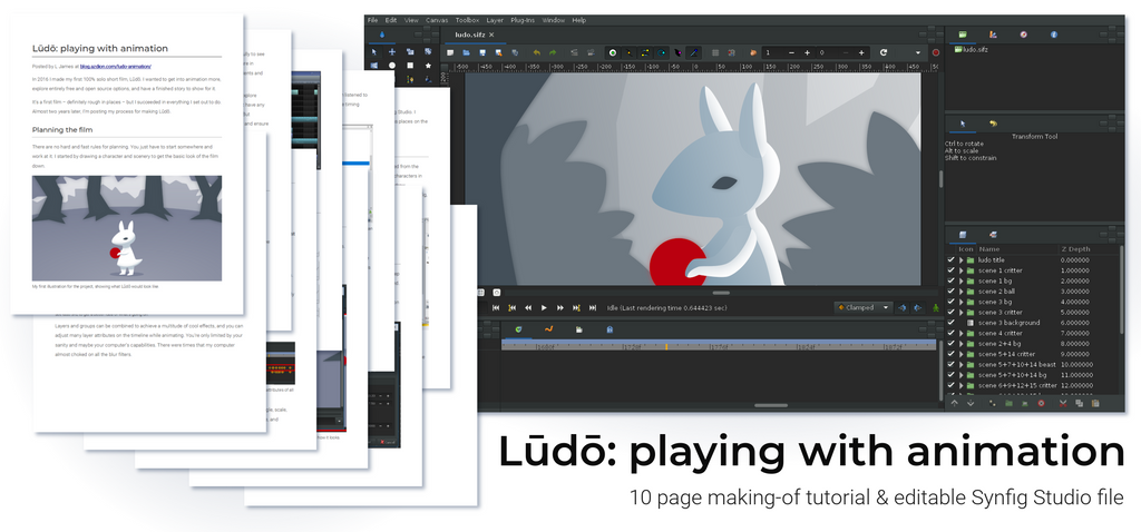 Ludo: playing with animation [tutorial] by L-James