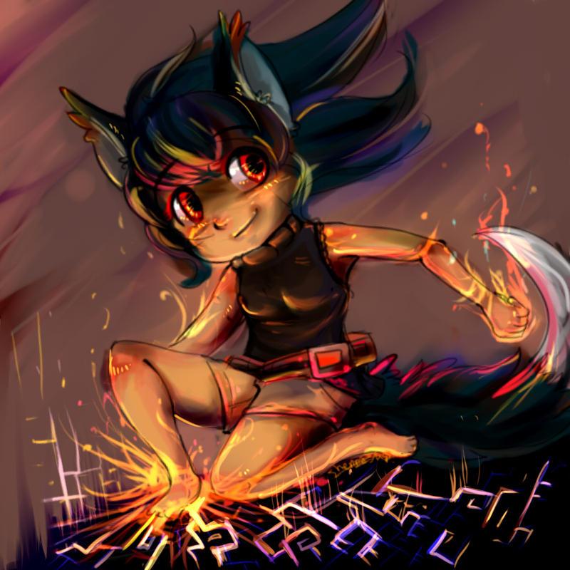 Fire starter by Scorched-FoxFire