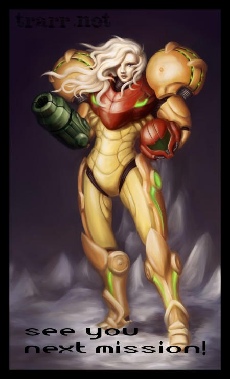 Metroid - See you next mission by chalcara