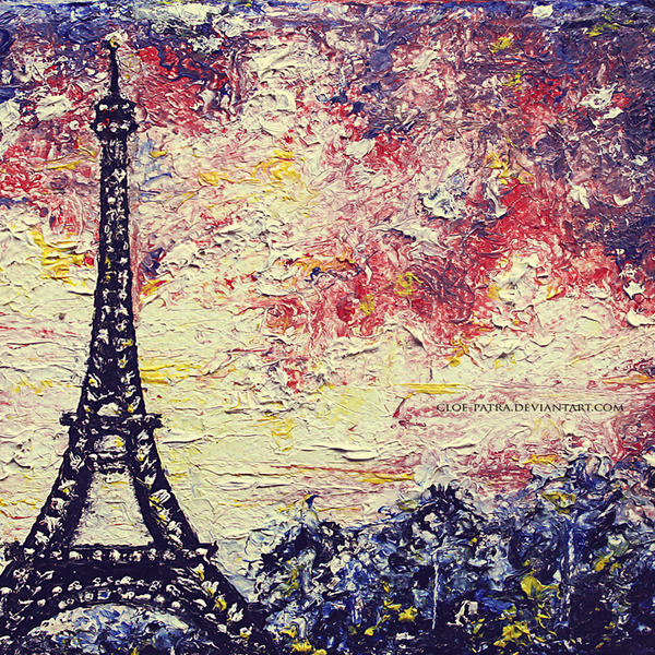Eiffel Tower by cloe-patra
