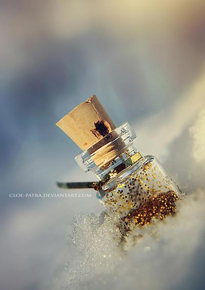 week7: winter bottle by cloe-patra
