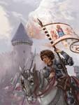 Jeanne d'Arc by floriflore