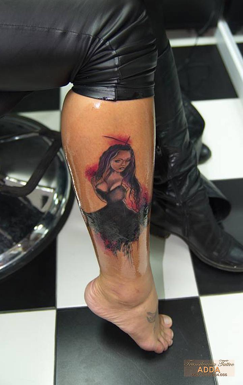Dancer tattoo by Adda by transilvaniatattoo66