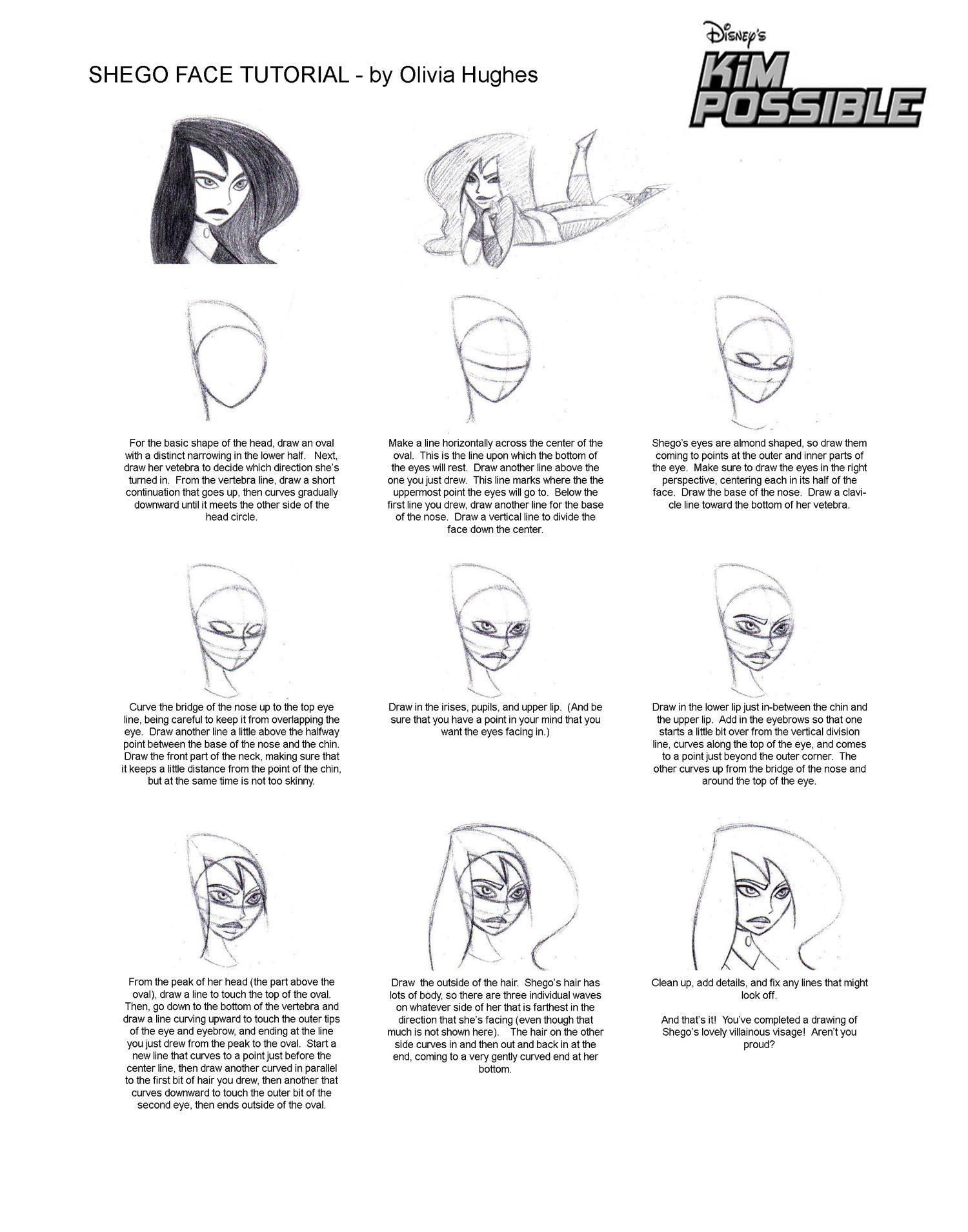 Shego Face Tutorial by skinny mini on DeviantArt