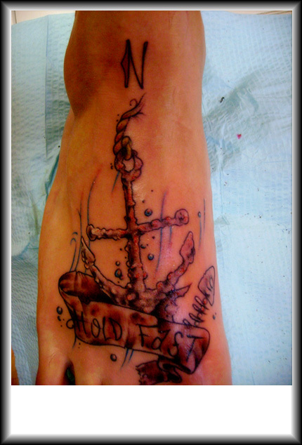 Sailor Jerry Hold Fast Tattoo Anchor Gloves Punk New For Sale