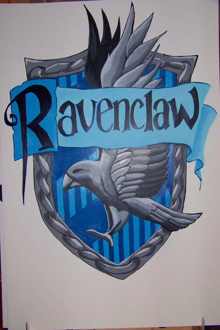 Ravenclaw House Crest by RonnieWilliams13Ravenclaw House Crest