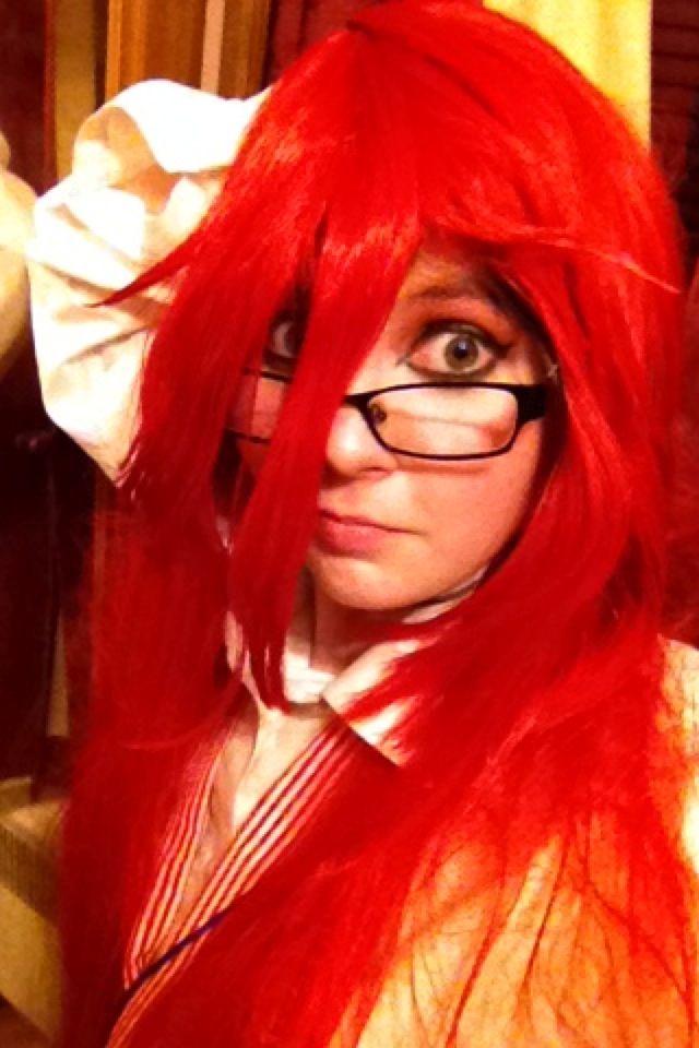 Grell Sutcliff Cosplay 002 by CosplayerKate13