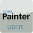Corel Painter User Stamp (small) by mnvulpin