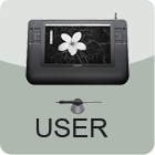 Wacom Cintiq 12HD User Stamp (large) by MarcellenNeppel