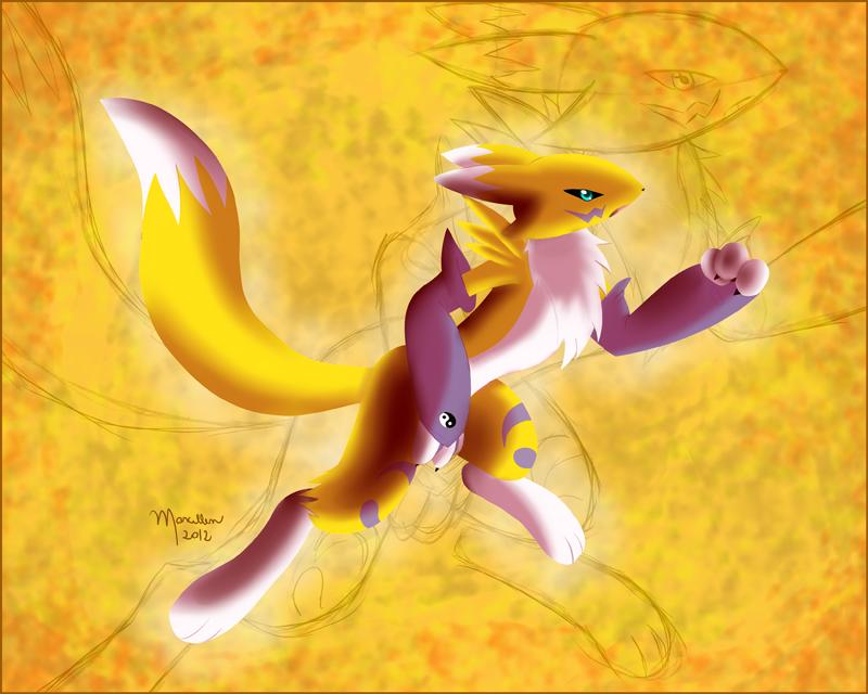 Renard Digimon by MarcellenNeppel