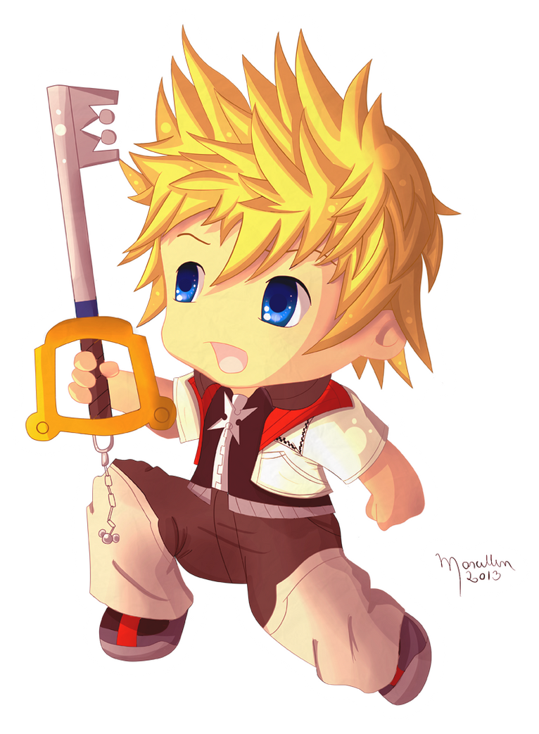 Chibi Roxas by MarcellenNeppel